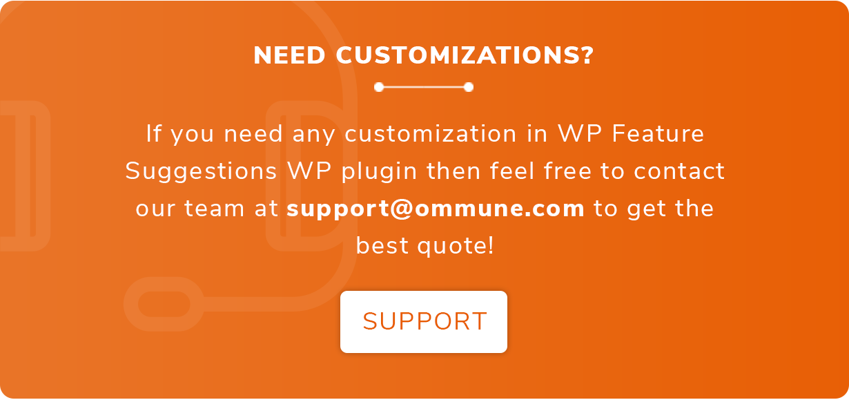 Feature Suggestions - WordPress Plugin to collect & manage suggestions from Website Visitors - 3