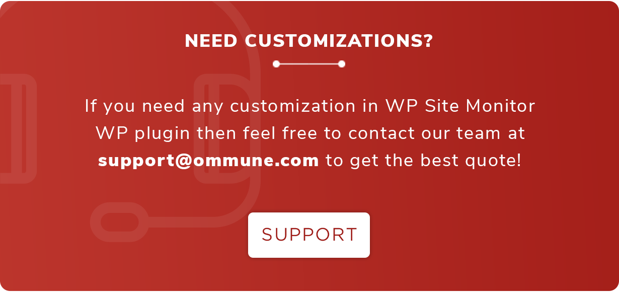 WP Site Monitor - WordPress Plugin For Monitoring Your Websites Availability - 5